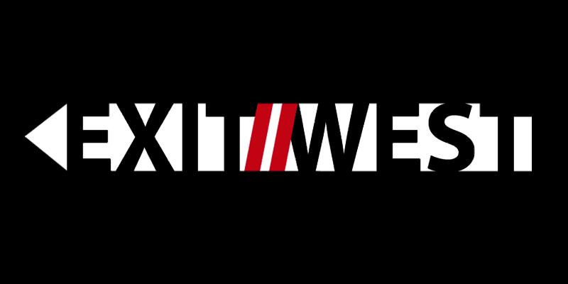 Exit2West Logogestaltung