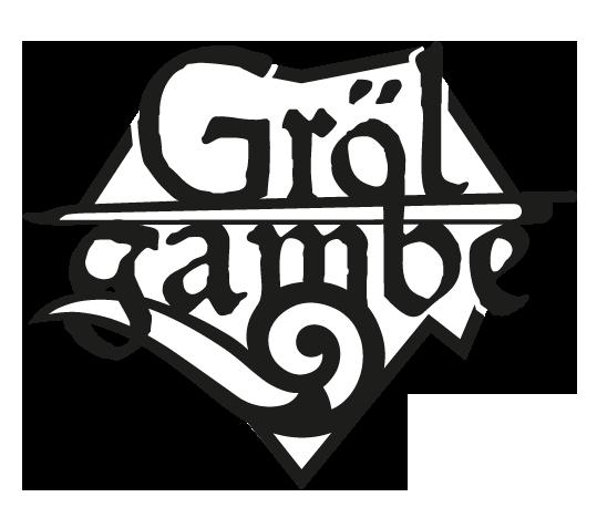Logogestaltung | Bandartwork | Grölgambe