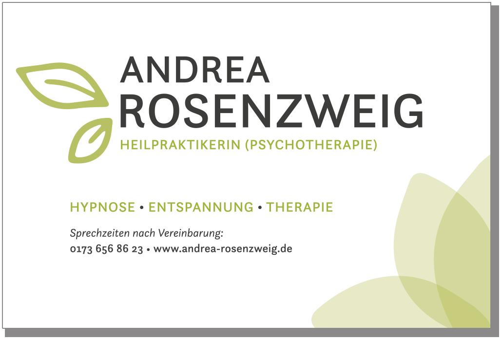 Praxisschild für eine Heilpraktikerin (Psychotherapie)