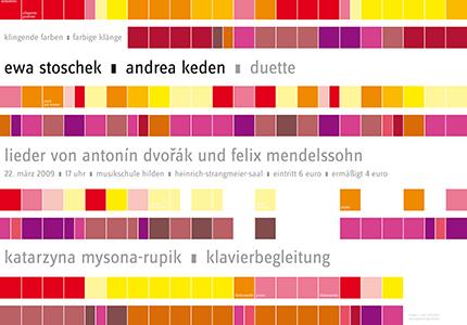 Artwork für eine Konzertveranstaltung: Klassisches Konzert für Arien in Sopran und Alt