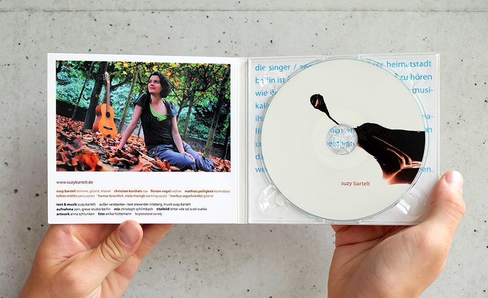 CD-Covergestaltung Suzy Bartelt