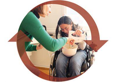 Bildkonzept und Fotografien für einen Ambulanten Intensivpflegedienst