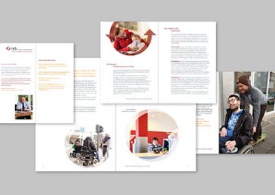 Infomaterialien für einen Ambulanten Intensivpflegedienst