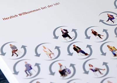 Mitarbeiter-Willkommensmappe für einen ambulanten Pflegedienst – isb gGmbH