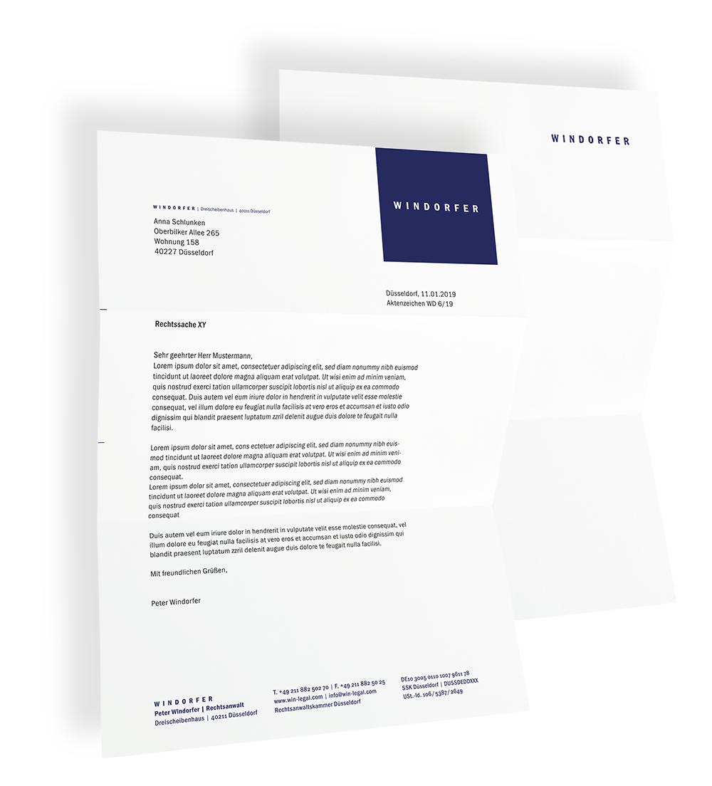 Corporate Design für einen Rechtsanwalt
