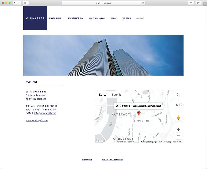 Webseitengestaltung für Rechtsanwalt